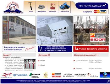 Website Centro Ferretero Tiquire